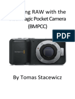 Shooting RAW With the Blackmagic Pocket Camera