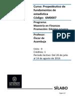 Sílabo Propedéutico de Estadística_MFIN19!13!07_16