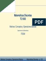 5 Matrices