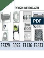Revestimientos Permitidos ASTM