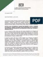 Carta Circular 2-2007-2008 Sobre Politica de Bienestar