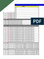 Jadwal Training PSA April 2017