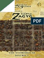 Castles & Crusades - Castle Zagyg - Yggsburgh - Storehouse District