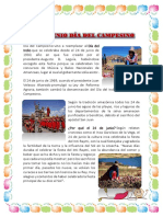 24 de Junio Dia Del Campesino
