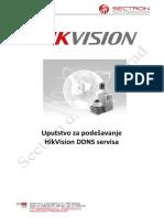 Podešavanje HikVision DDNS servisa - Uputstvo.pdf
