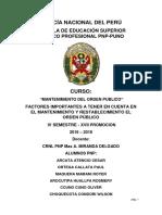 Ortega Mentenimineto