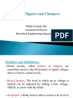 Diode Clippers and Clampers