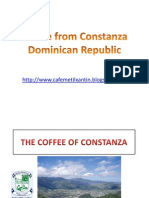 Coffee From Constanza Dominican Republic