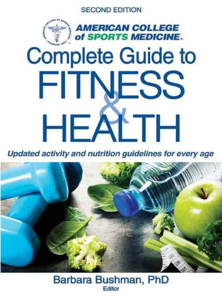 ACSM's Complete Guide to Fitness and Health - 2E (2017).epub | Physical  Exercise | Physical Fitness