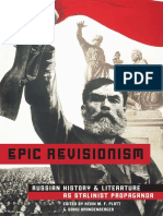 Kevin M. F. Platt, David Brandenberger-Epic Revisionism_ Russian History and Literature as Stalinist Propaganda (2006)