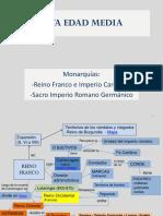 06 Alta Edad Media Francos Carlomagno y Sacro Imperio Romano Germc3a1nico