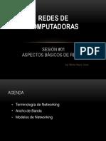 Clase 01 - Aspectos Basicos de Las Redes