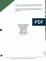 Manual de Servicio Motores Diesel T444e