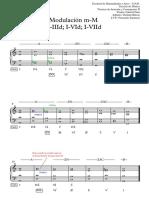 03 Modulación M-M; I-IIId; I-VId; I-VIId - Partitura Completa