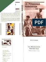 SCHÉRER, René - La Pedagogia Pervertida