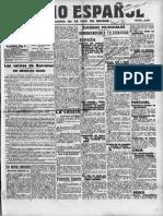 Diario Español, Janeiro de 1914