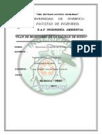 PLAN DE MONITOREO DE CALIDAD DE RUIDO-TAREA N°3