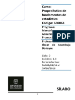 Sílabo Propedeutico de Estadística 08-09-16 VF