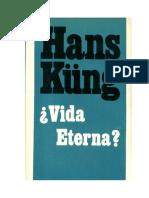 Kung, Hans - Vida Eterna