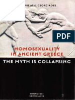 Adonis Georgiades Homosexuality in Ancient Greece - The Myth is Collapsing