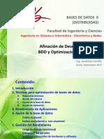 4. Afinación de Desempeño de Una BDD y Optimización de Consultas