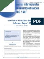 Lecciones Contables-Caso Lehman Brothers