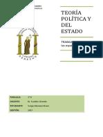 Teoría Política y Del Estado