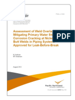 Assessment of Weld Overlays
