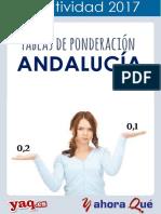 Andalucia Parametros Ponderacion 2017 Selectividad