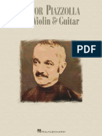 Astor Piazzolla for Violin and Guitar