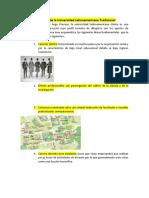 Característica de La Universidad Latinoamericana Tradicional