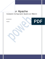 Configurar Sever de Archivos Apache Webmin_linux