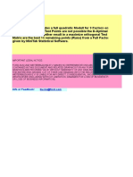 D_Optimal Excel Spreadsheet MAcro