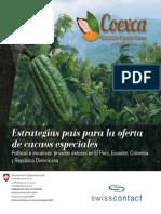Estrategias Pais Para La Oferta de Cacaos Especiales