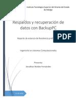 Respaldos Con BackupPC en Centos 7 Jhon