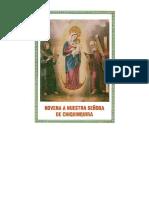 319808334 Novena y Rosario a Nuestra Senora de Chiquinquira Original PDF
