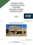 Construcción usando Estructuras de madera