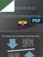El Ecuador en El Contexto Internacional