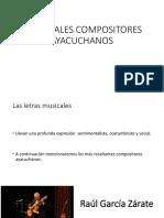 Principales Compositores Ayacuchanos