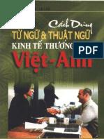 Thuat Ngu Kinh Te Thuong Mai Viet - Anh