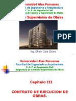 CONTROL Y SUPERVISION DE OBRAS CLASE N° 03