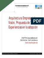Arquitectura Empresarial_ Visión, Propuesta de Valor y Experiencias en la adopción.pdf