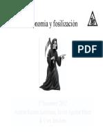Paleontologia & Estratigrafia - 05 - Tafonomía - 00