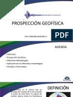 PROSPECCIÓN GEOFISICA