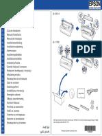 Guía de Instalación EPSON LX-300+ y LX-1170 II