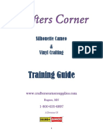 Silhouette Training Notes