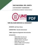 organismos regionales internacionales