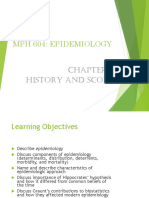 Week 1 Chapter 1 Lecture History and Scope Rev Cheng 2014