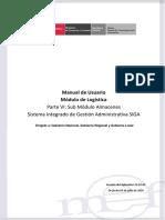PARTE VI - MU Modulo Logistica Almacenes