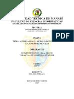 Métricas en Aplicaciones Móviles como modelo de negocio (1/2)